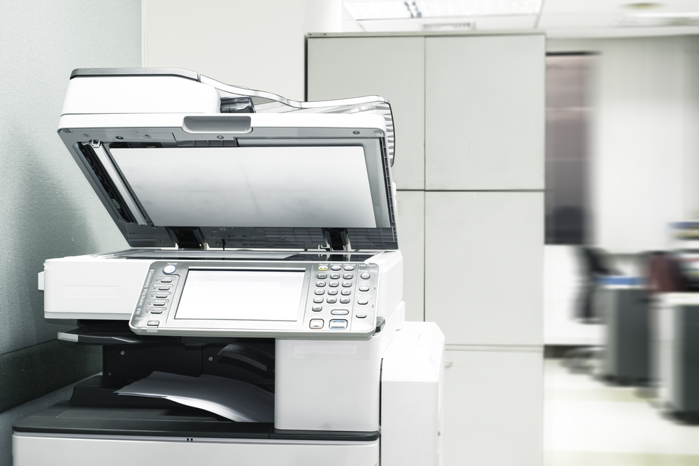 オフィスレイアウトで重要なコピー機周辺