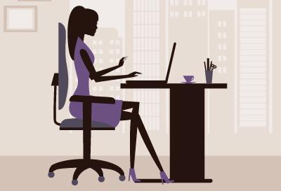 座り仕事の女性必見!オフィスで使える猫背対策クッション5選