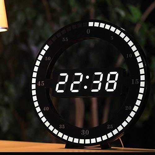 1位.LED輸入時計