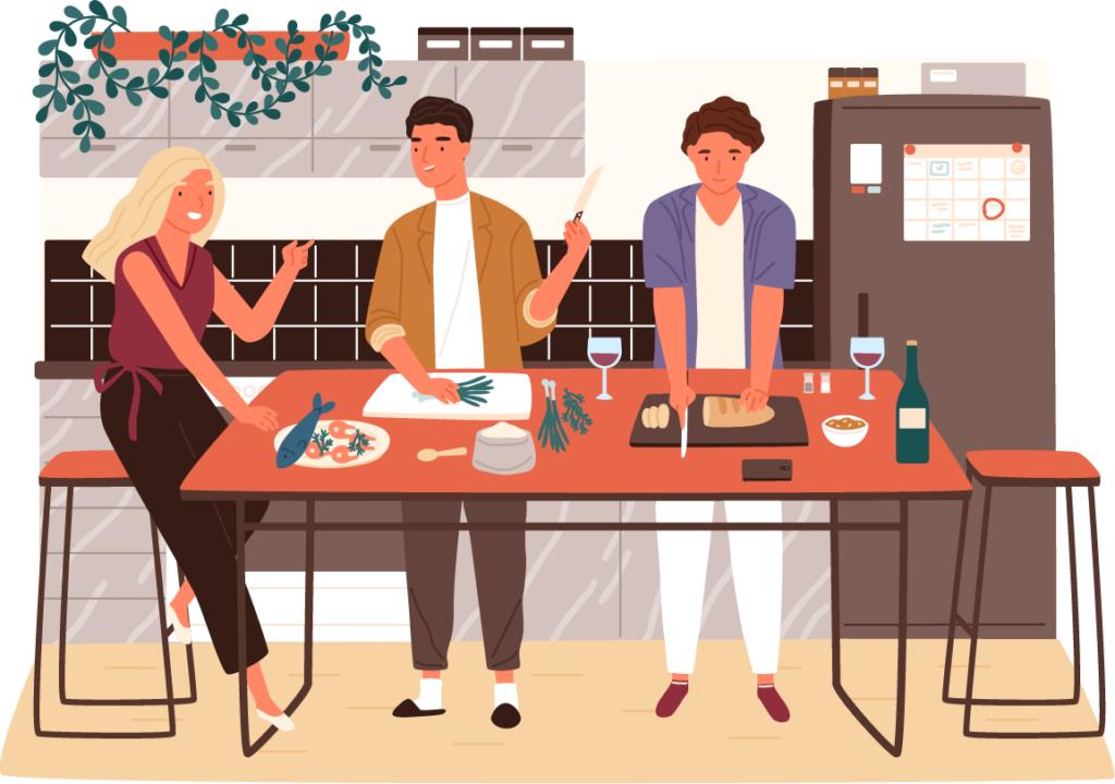 オフィスキッチンが流行っている3つのメリット