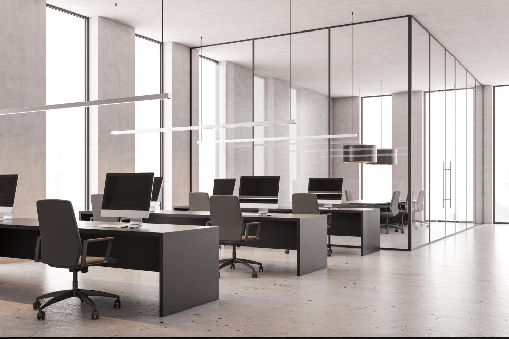 2.業務フローが決まっている場合の事務所のレイアウト事例