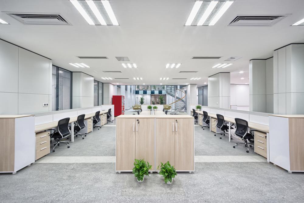 3.個人の専門作業が多い場合の事務所のレイアウト事例