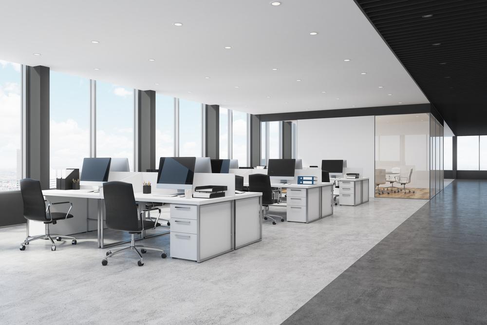 1.共同で作業をすることが多い場合の事務所のレイアウト
