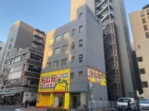 「カニエビル」名古屋駅西口より徒歩5分にある、1フロアオフィス賃貸物件
